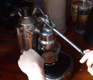 La Pavoni_morning coffee